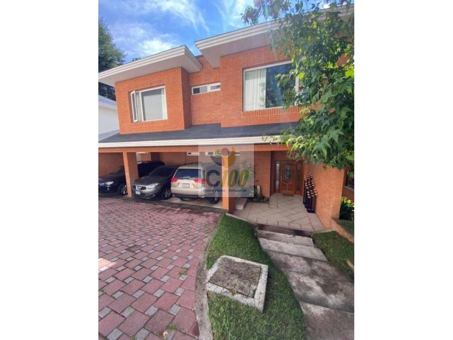venta casa santa rosalia guatemala