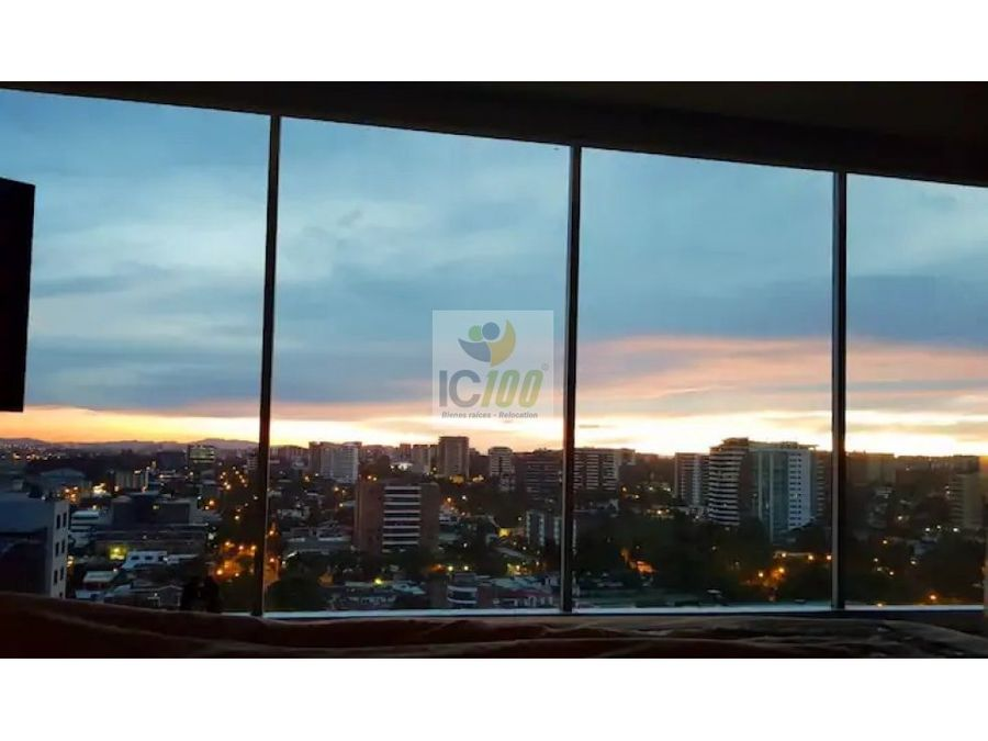 renta penthouse amueblado zona 13 guatemala