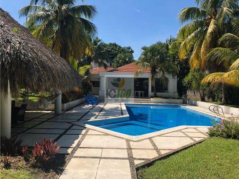 ventarenta casa de playa san marino i guatemala
