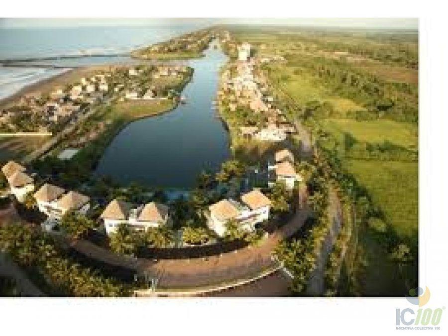 venta de terreno en exclusivo res marina del sur