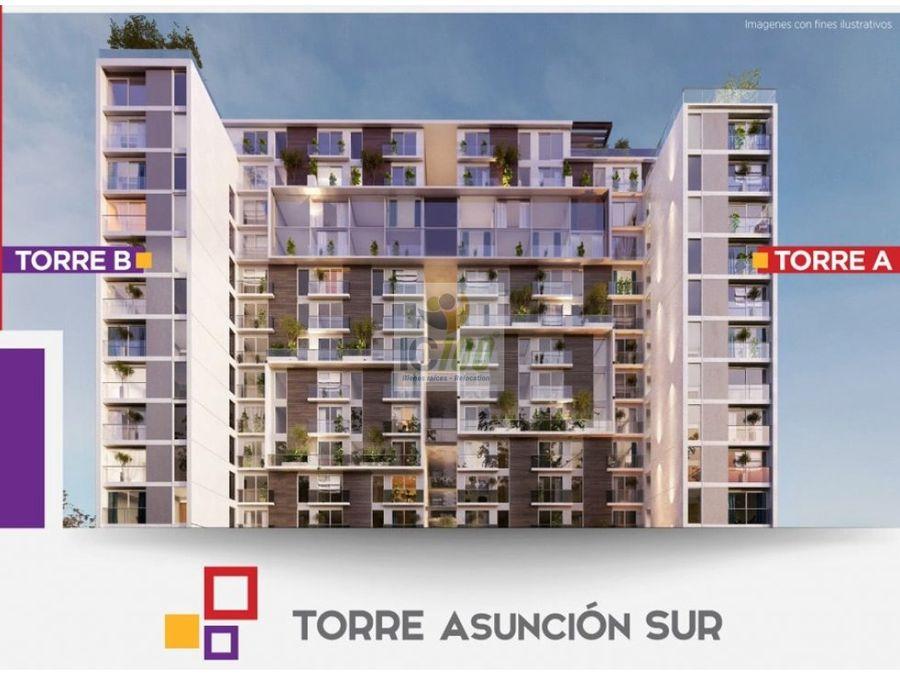 venta apartamentos torre asuncion sur zona 5