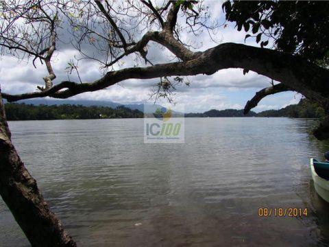 venta terreno izabal guatemala
