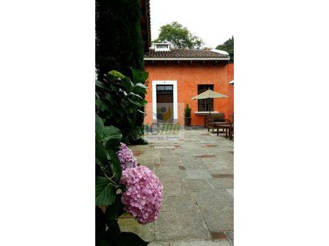 venta villa en antigua guatemala