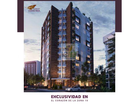 venta apartamento proyecto habitat zona 10 guatemala