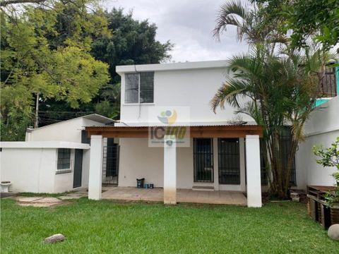 renta casa en la villa zona 14 guatemala