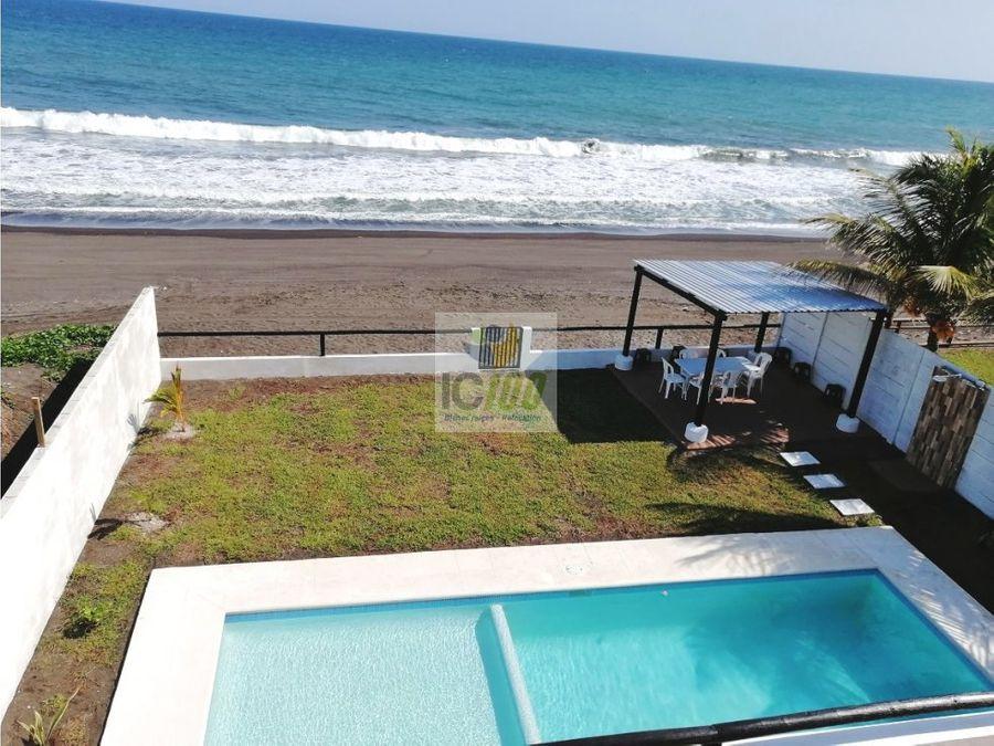 renta casa de playa monterrico guatemala