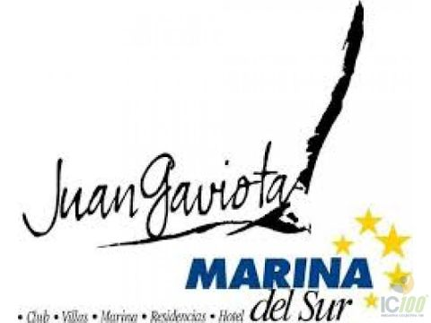 venta de terreno en exclusivo res marina del sur