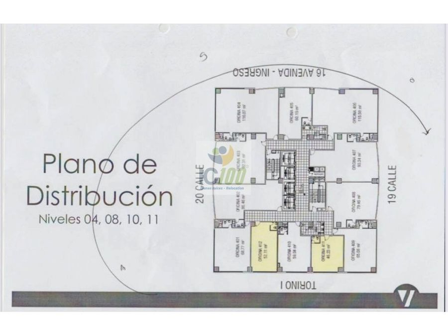 venta oficina torino 2 zona 10 guatemala