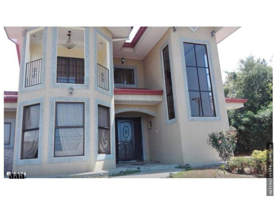 venta casa en condominio en grecia san miguel