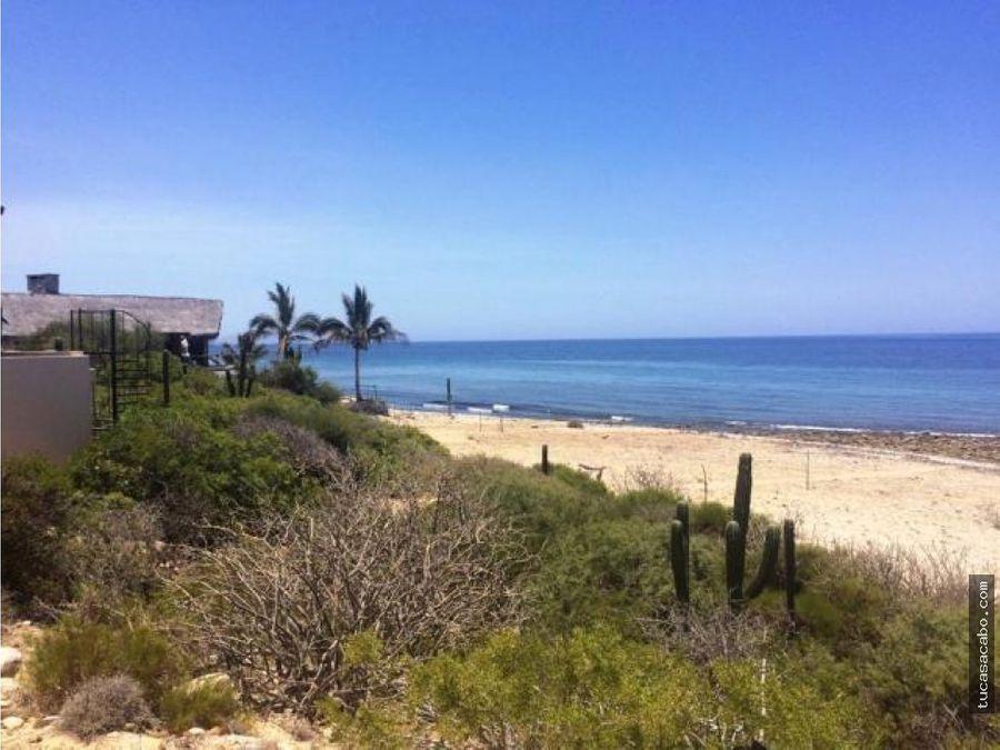 beachfront lot el cardonal east cape