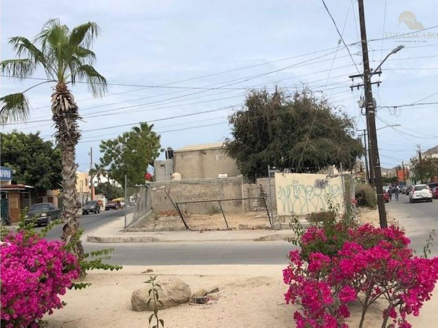lote arenal 14 calle ejido cabo san lucas