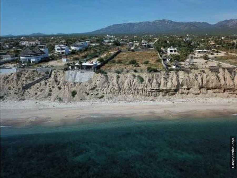 isla cerralvo beachfront developer lot la paz