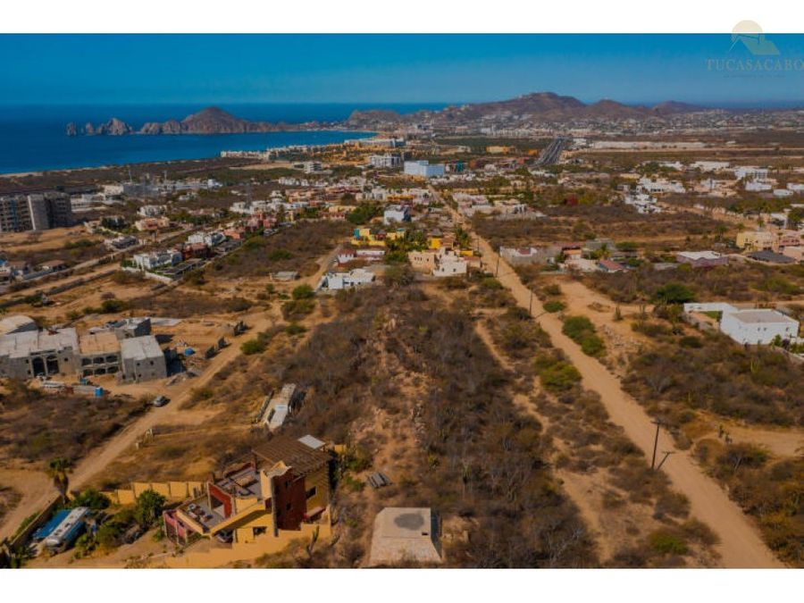 land to develop condominiums tezal cabo san lucas