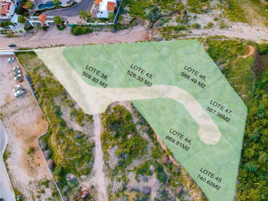 terreno ciruelos 43 tezal cabo san lucas