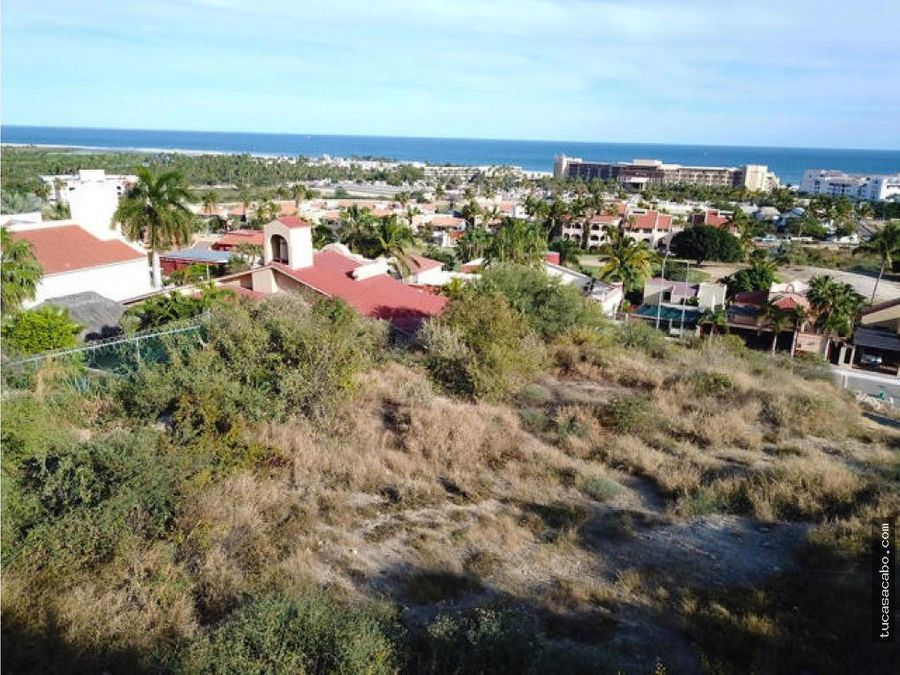lot 6 38 paseo finisterra san jose del cabo
