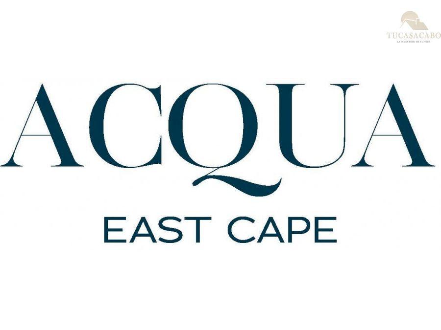 acqua east cape calle hacienda eureka 104 east cape