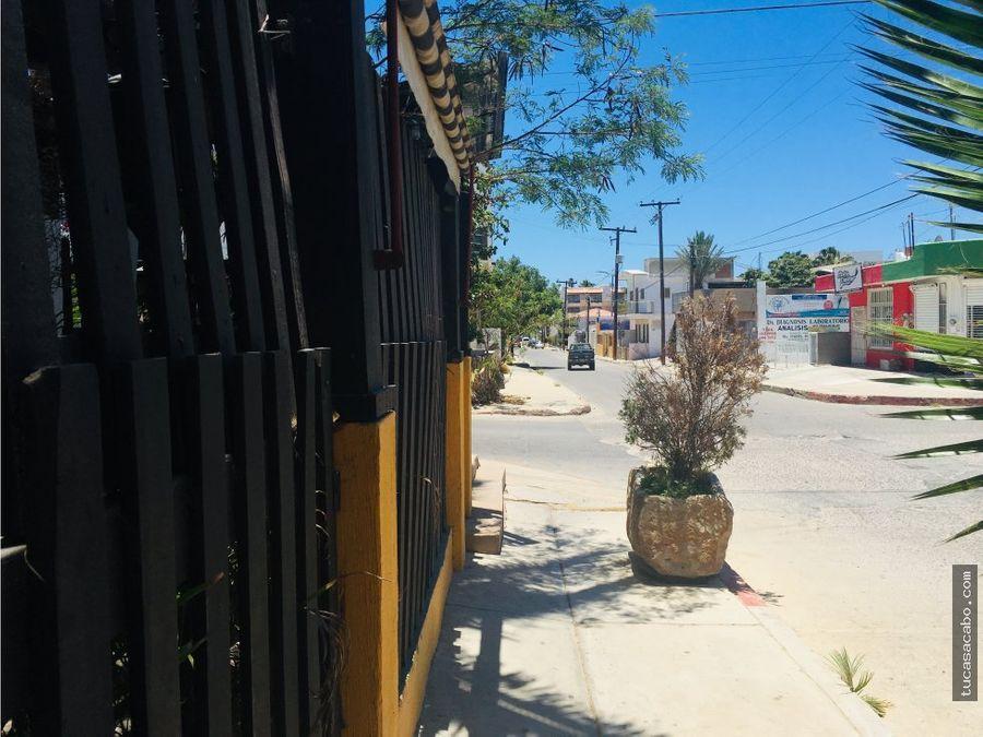 terreno comercial esquina zaragoza san lucas