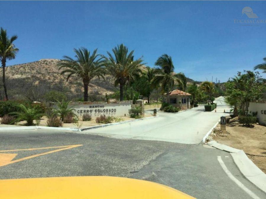 villa montana bv cerro colorado san jose corridor