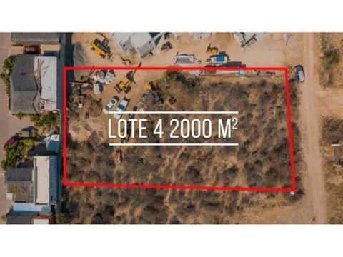 land to develop condominiums tezal cabo san lucas