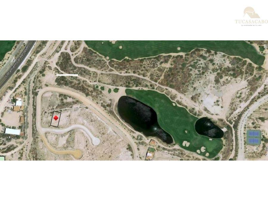 lote 31 vista lagos club campestre san jose del cabo