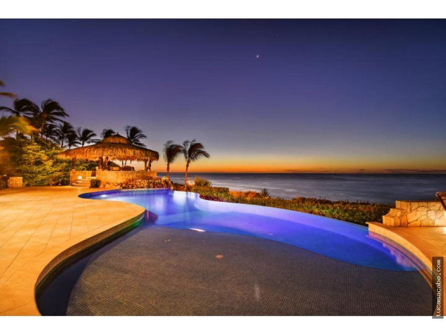 beachfront hacienda villa serenity