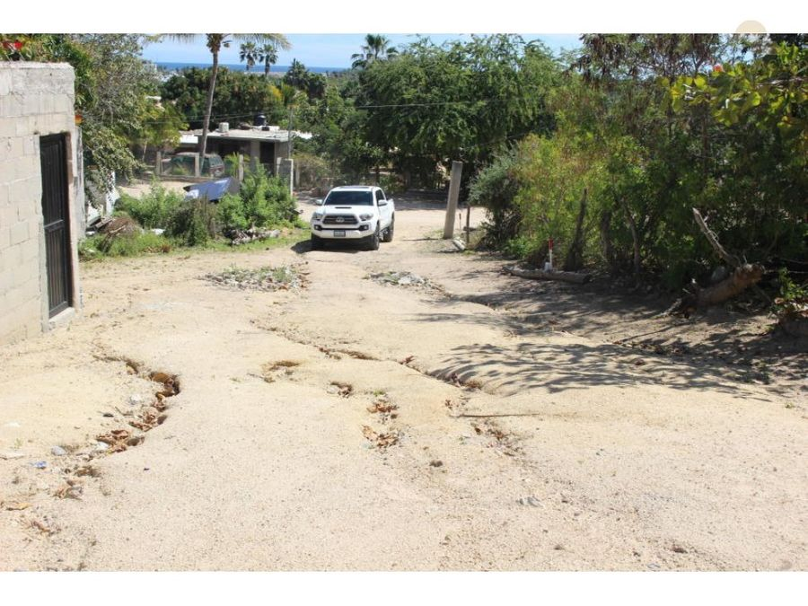 fisher lot calle sin nombre san jose del cabo