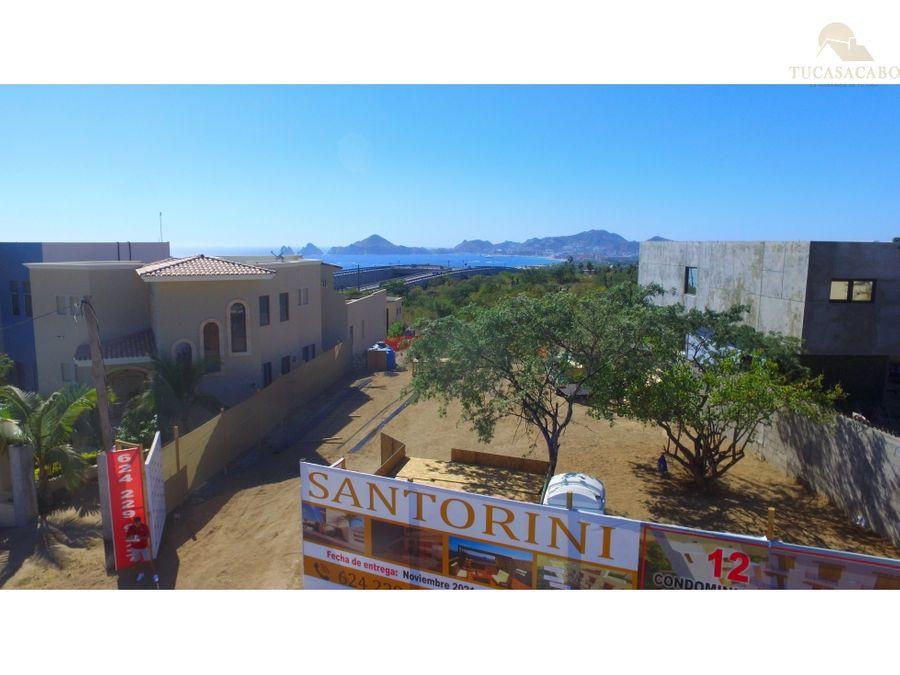 santorini residencial torre fira penthouse 1 cabo corridor