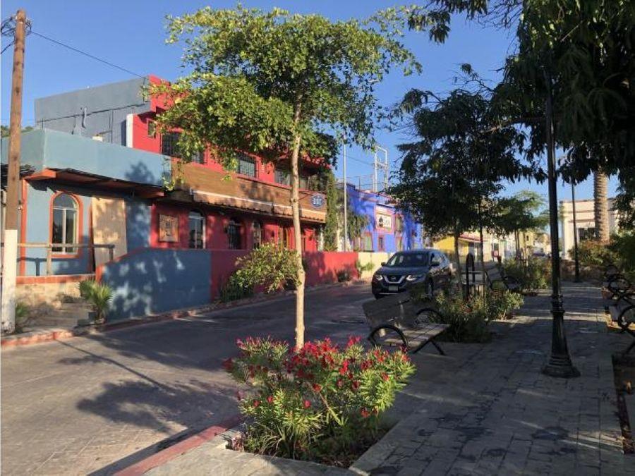 cabo commercial downtown lot benito juarez cabo san lucas