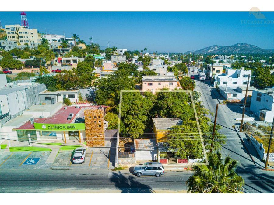 developer lot calle valerio gonzalez canseco san jose del cabo
