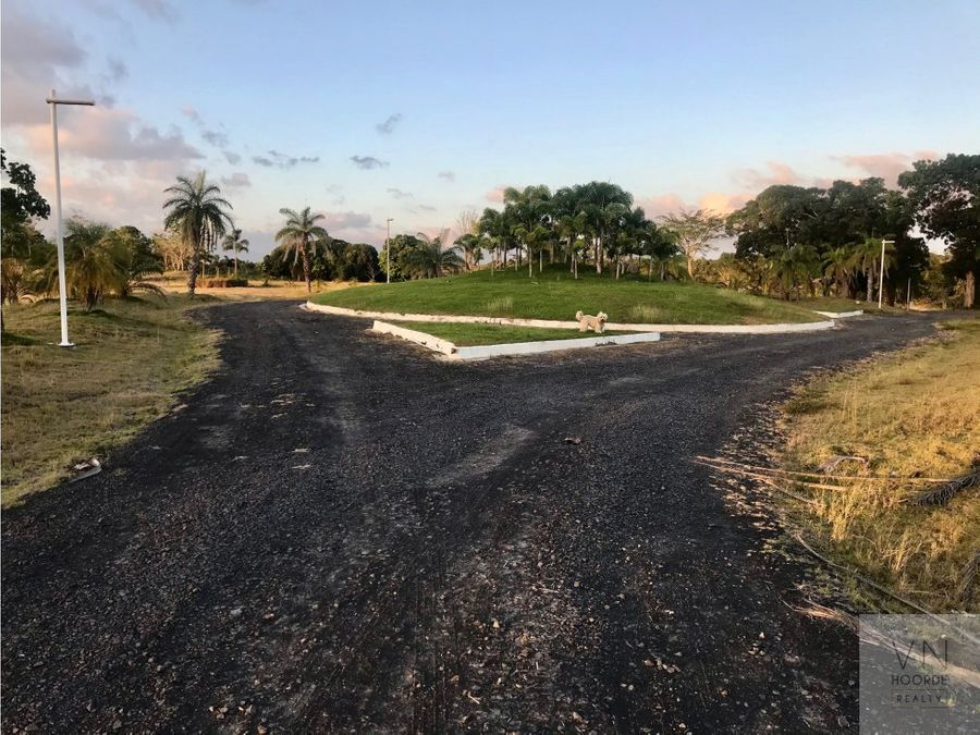 vendo exclusivo terreno de playa en rio hato