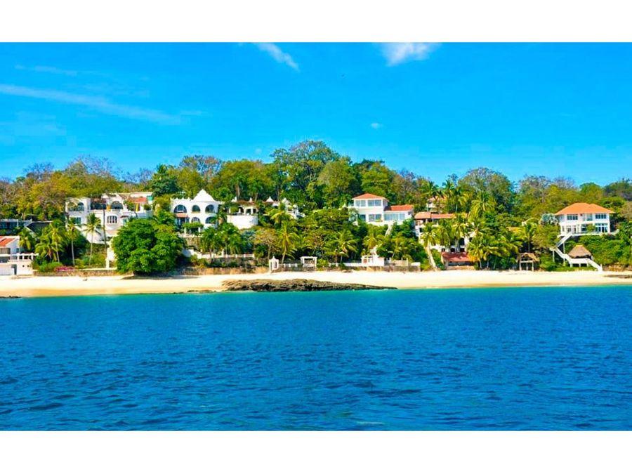 exclusivo terreno en isla contadora