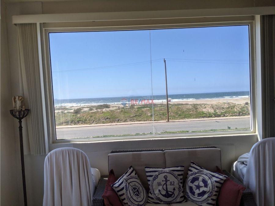 casa en venta con vista al mar y enfrente de la playa