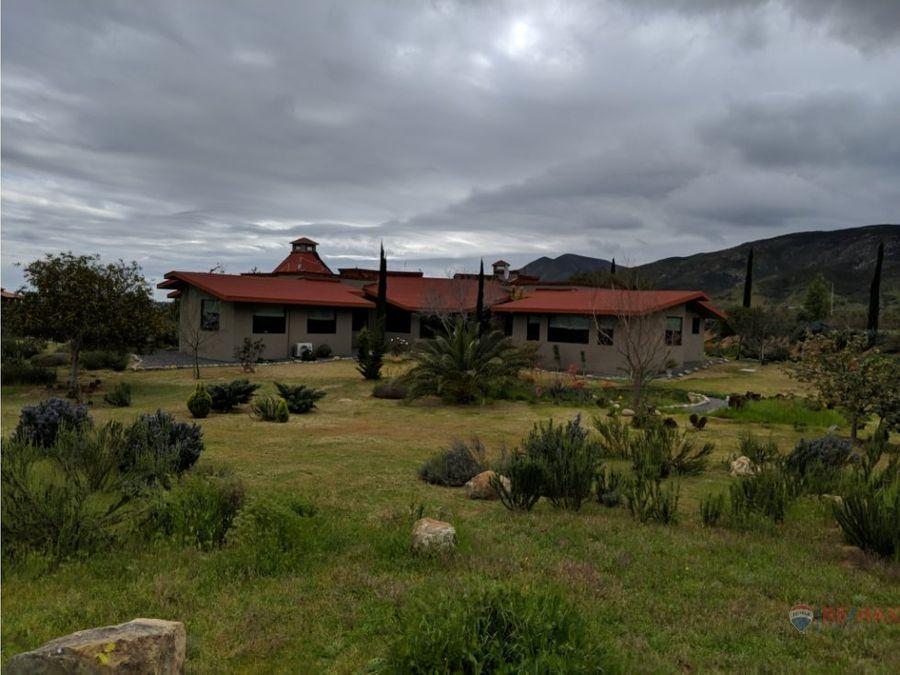 propiedad en venta en valle de guadalupe tierra de paz