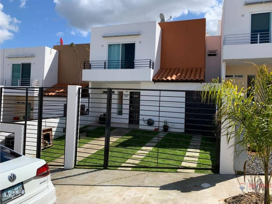 casa en venta en privada de puerta del mar
