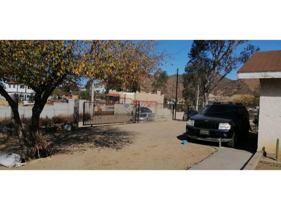 terreno con casa en venta en san antonio de las minas