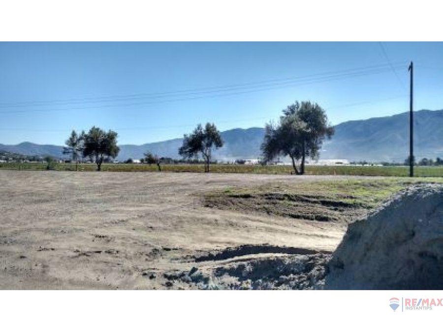 terreno frente a carretera la bufadora