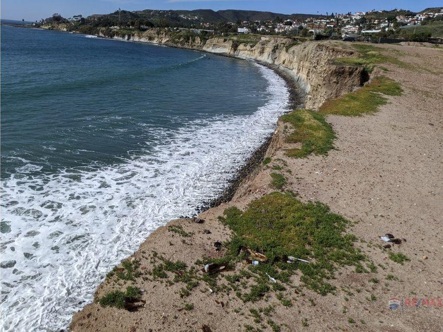 terreno enfrente del mar en ensenada