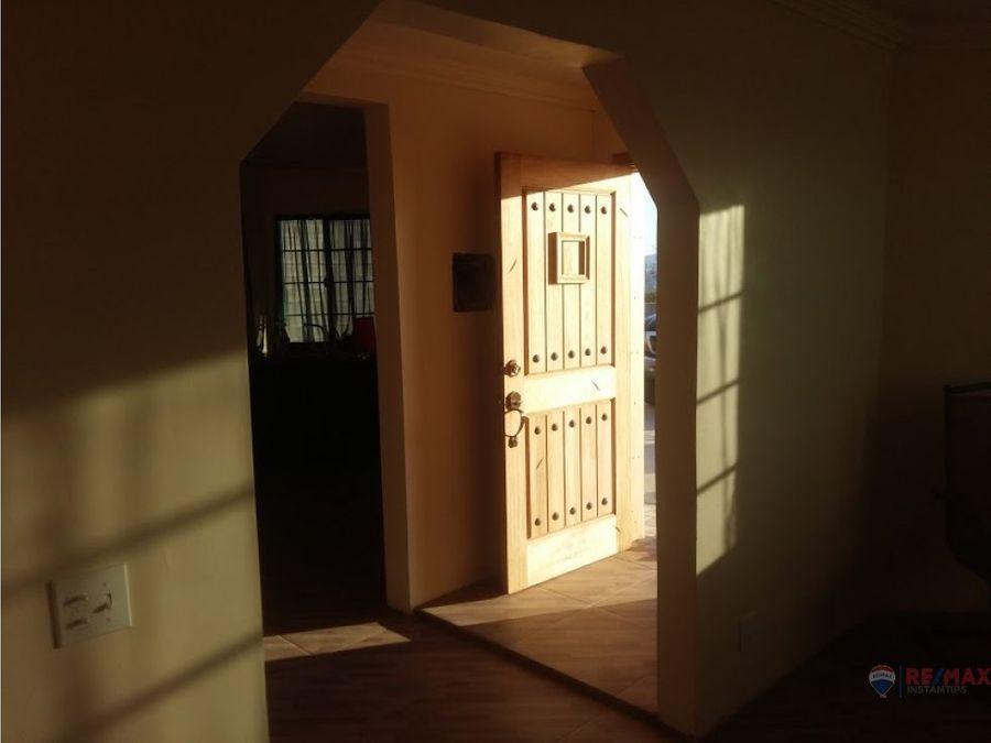 casa y terreno en venta en el sauzal
