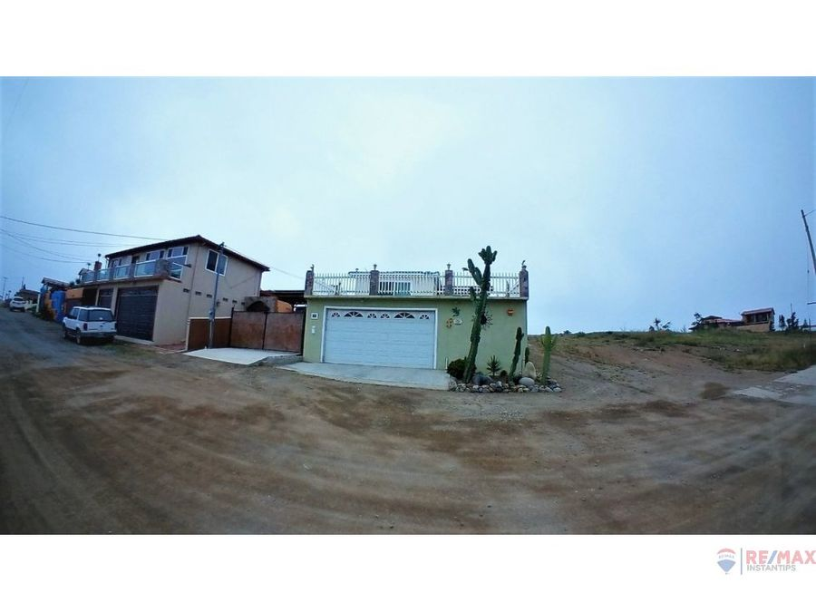 casa en venta en punta banda la bufadora