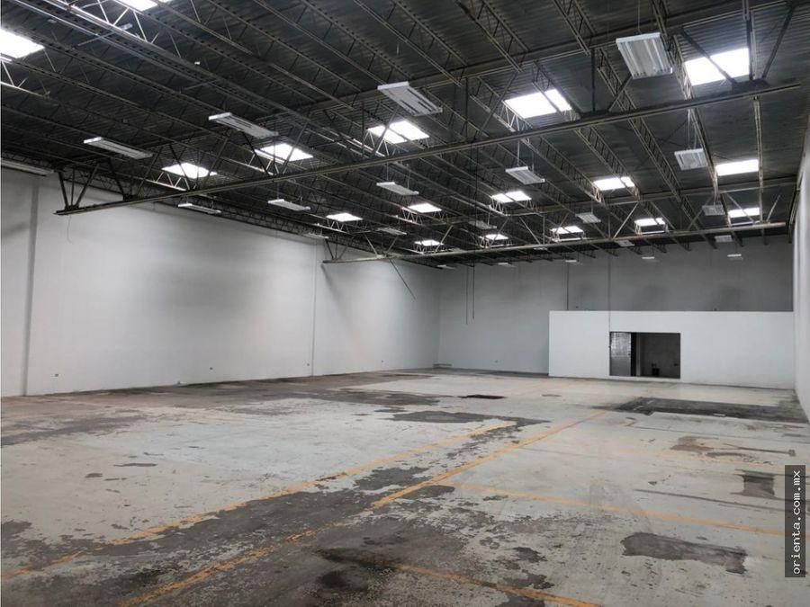 bodega industrial 668 m2 en renta calle a laredo cerca av tecnologico