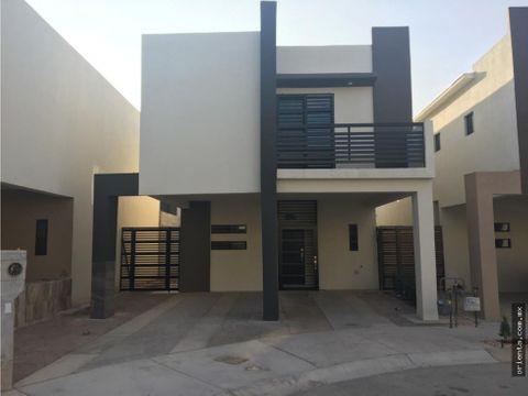 casa nueva en fracc privado en renta