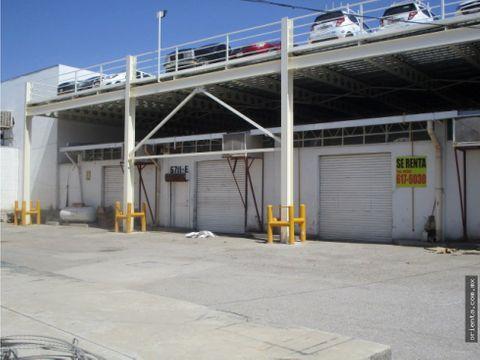 bodega industrial 276 m2 en renta calle a laredo casi tecnologico