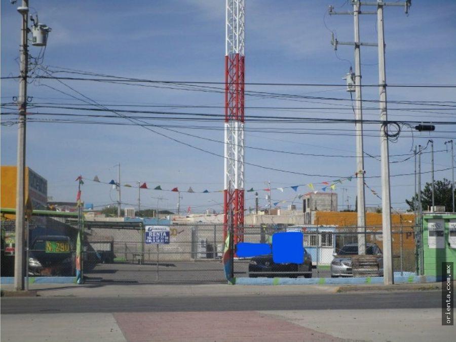 terreno con oficina en santiago blancas 280
