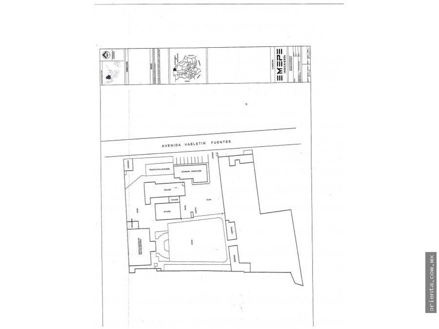 terreno en valentin fuentes 1775 y 1823