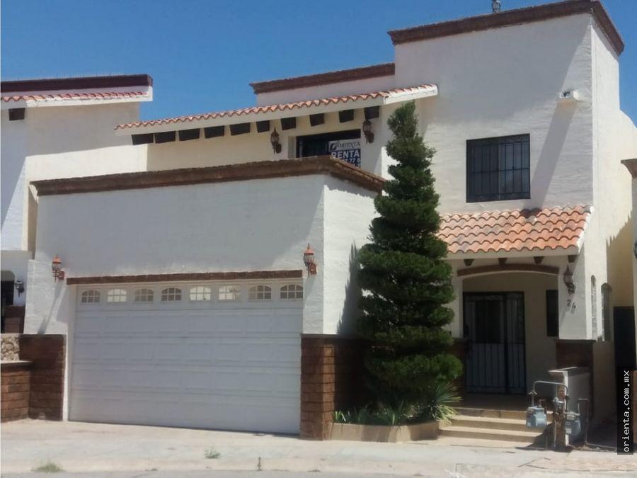 casa en renta en veredas del sol sector campos eliseos