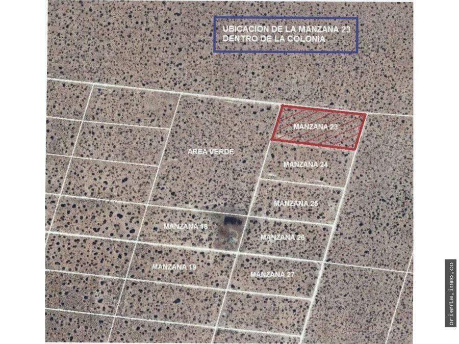 terreno plazuela de acuna lotes residenciales