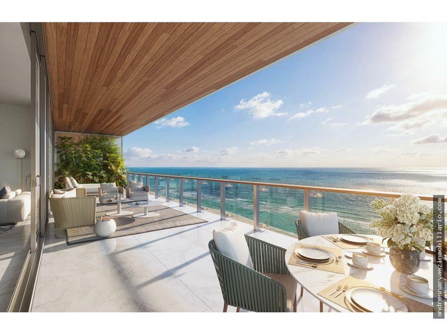 57 ocean proyecto en miami beach