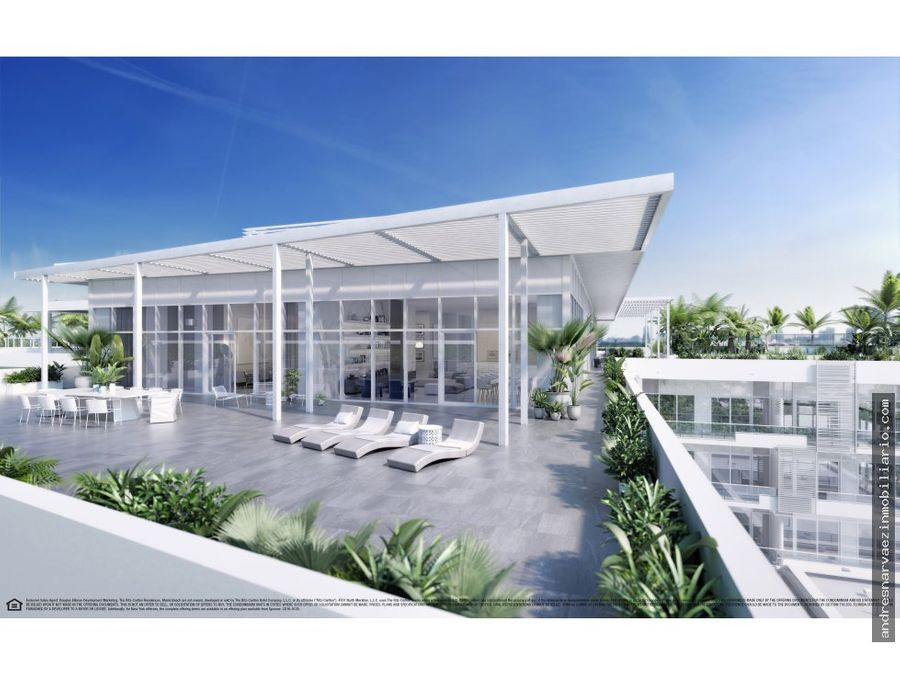 ritz carlton residences en miami beach