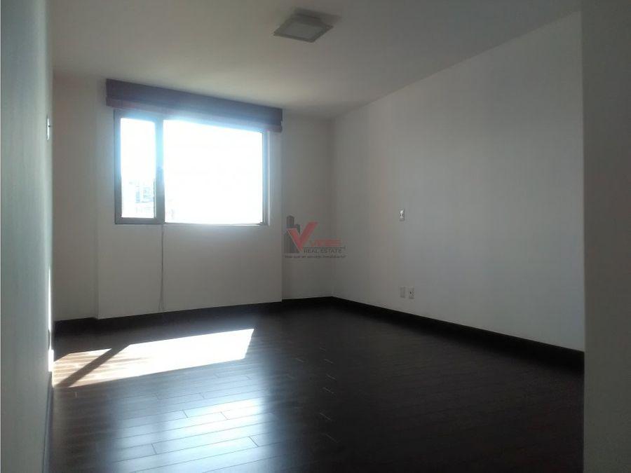 apartamento en renta attica ii con sala familiar