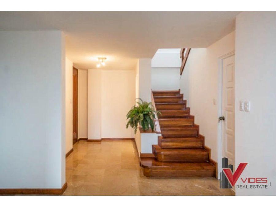 penthouse en renta z14 en 22 calle